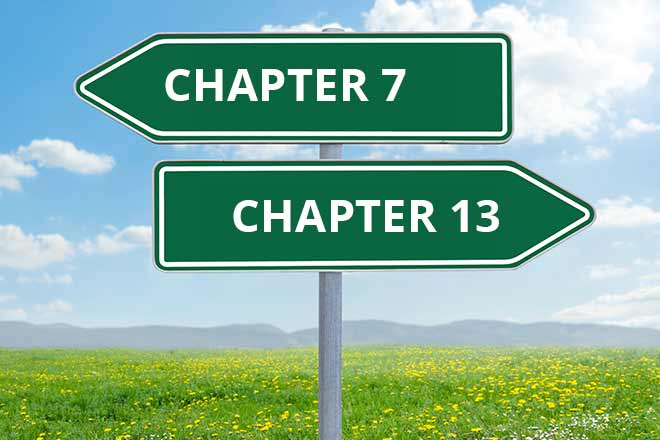 Is Chapter 7 Bankruptcy Better than Chapter 13 - featured